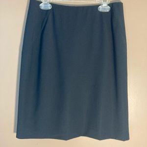 Gucci wool blend black skirt